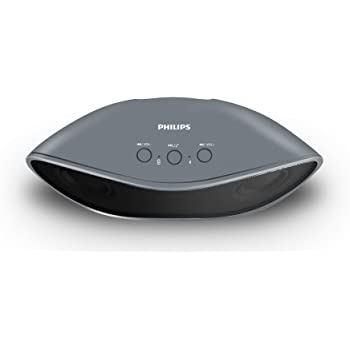 Philips IN-BT4200G/94 Portable Wireless Bluetooth Speakers (Grey)