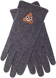 EEM guanti per bambini, emoji ricamo, scimmia mucchio unicorno