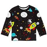 Shirt L/S Space Weltall von JNY aus Schweden Size 98