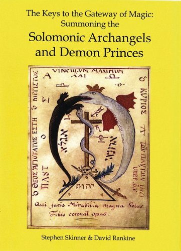 The magical treatise of solomon or hygromanteia the best amazon the keys to the gateway of magic summoning the solomonic archangels and demon princes fandeluxe Choice Image