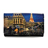 YNOT? YES-347F0MIDNIGHT IN PARIS LONG WALLET