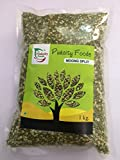 #9: Pack of 1 Kg Green Moong split/Chilka Dal by Pink City Foods