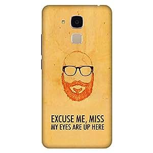 Mobo Monkey Designer Printed Back Case Cover for Huawei Honor 5c :: Huawei Honor 7 Lite :: Huawei Honor 5c GT3 (Moustache :: Beard :: Macho :: Mard :: Him)