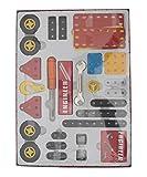 #5: Aaryan Enterprise Mechanical Toys - Little Engineer, Mechanical Kit for Juniors - Construction Set- 102 Pcs