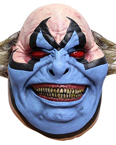Horror-Shop Original Spawn Violator Clown Maske als Film & Comic Verkleidung für Halloween