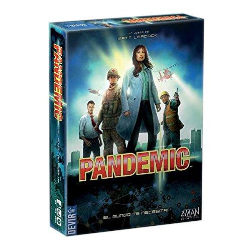 Devir Pandemic - Juego de mesa de estrategia (en castellano)
