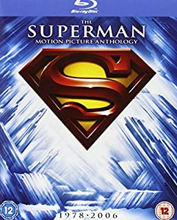 The Superman Motion Picture Anthology 1978-2006 [Blu-ray] [1978] [Region Free] (B004MYF6YK) | Amazon price tracker / tracking, Amazon price history charts, Amazon price watches, Amazon price drop alerts