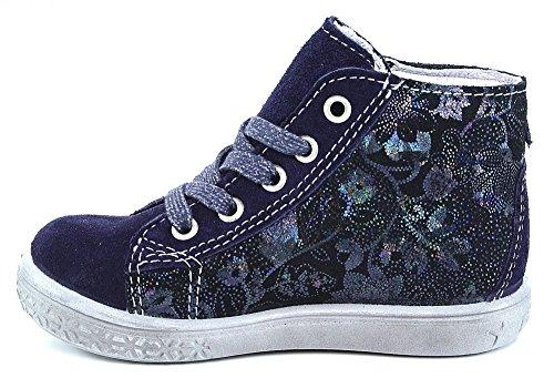 Ricosta Stari Mädchen Hohe Sneakers Blau