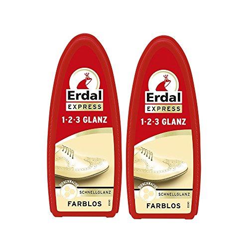 2x-erdal-express-1-2-3-glanz-farblos-schwamm-mit-bienenwachs