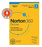 Norton 360 Deluxe 2020, 3-Geräte, Antivirus, Secure VPN unlimited, Passwort-Manager, PC/Mac/Android/iOS, Aktivierungscode per Email