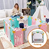 Faltbarer Baby-Laufstall Kids Activity Center Sicherheit Spielplatz Home Indoor Outdoor Neue Version
