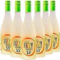 Fizzy Frizzante Vino Espumoso Verdejo - Pack de 6 Botellas x 750 ml