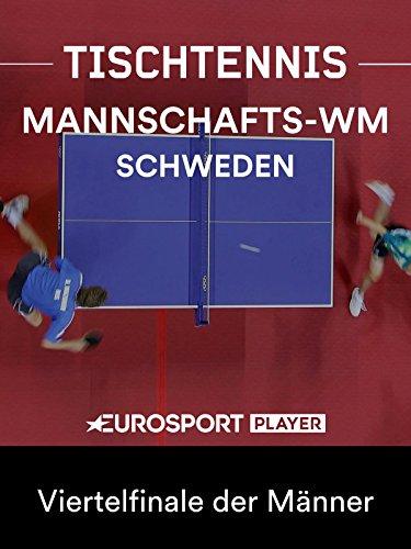 Tischtennis: Mannschafts-WM in Halmstad (SWE) - Viertelfinale der Männer