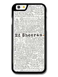 Ed Sheeran Songs Lyrics coque pour iPhone 6 6S