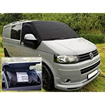 Deluxe Transporter Van T5ventana frontal Protector de cortina Wrap Cover windowscreen