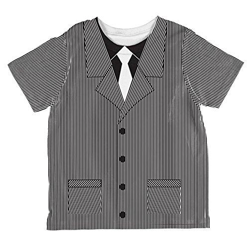 Gangster Kostüm in Kleinkind T Shirt Multi 4 t (Gangster Baby Kostüm)