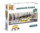Clementoni - Minions: Blick durch den Gullideckel - 1000 Teile Panoramapuzzle