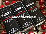 3 X GENUINE ZIPPO 125ml LIGHTER REFILL FLUID FUEL PETROL