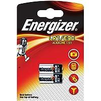 Energizer - 629563 - 2 Piles Miniatures Alcalines LR1/E90 - 1,5 V - Lot de 2