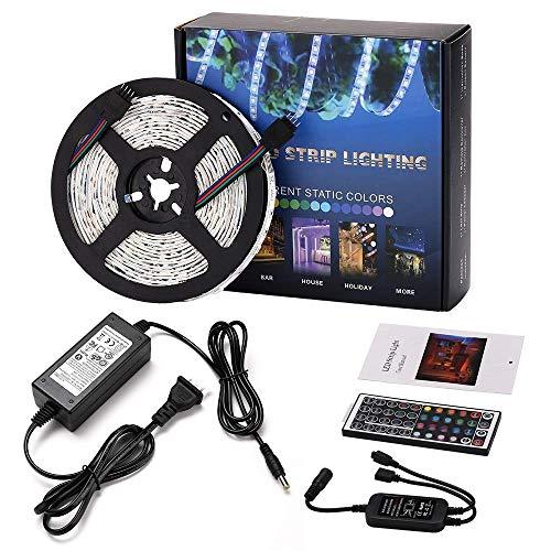 Tira LED 12V Luces LED - Tiras Led RGB 5M 150 Leds Non Impermeab 5050 SMD RGB Tiras de LED Kit Completo