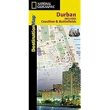 Durban: National Geographic Destination Map
