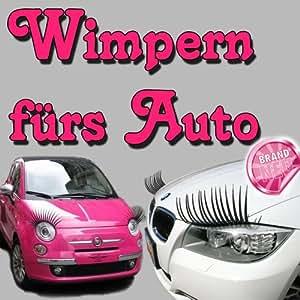 wimpern f rs auto scherzartikel auto. Black Bedroom Furniture Sets. Home Design Ideas