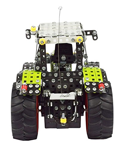 RC Auto kaufen Traktor Bild 2: Tronico 10058 - Metallbaukasten Traktor Claas Axion 850 mit Fernsteuerung, Profi Serie, Maßstab 1:16, 734-teilig, grün*