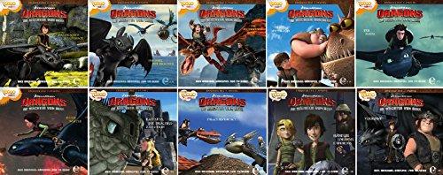 Dragons - die Reiter von Berk - Das Original Hörspiel zur TV-Serie - Folge 11-20 im Set - Deutsche Originalware [10 CDs]