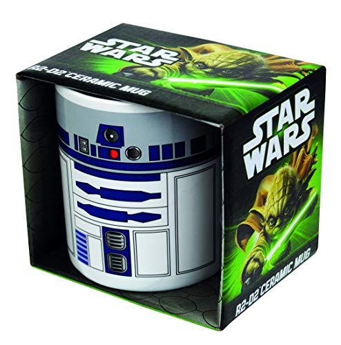 GB Eye MUGBSW12 Taza Star Wars R2 D2 Fashion, Cerámica