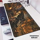 Musica mouse pad gomma giocatore personalità nuova tastiera portatile grande tavolo mat 2 700x300x2