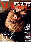 VOGUE DEUTSCH du 01/01/2008 - BEAUTY - SOMMER-SCHON - TENIS MIT VENUS WILLIAMS - TAUCHEN MIT CELINE COUSTEAU - TAI-CHI MIT EMMANUELLE SEIGNER - DIE BESTEN GOLF-UND SPA-HOTELS...