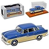 alles-meine.de GmbH Sachsenring P240 Limousine Blau Beige 1956-1959 DDR 1/43 Atlas Modell Auto