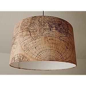 """Deckenlampenschirm""""Globus""""(Vintage) D 40cm. Farbe und Größe auf Anfrage"""
