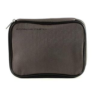 Porsche Design Amenity Kit Kulturtasche 18 cm, Grey (Grau), Breite ca. 18 cm, Höhe ca. 13 cm, Tiefe ca. 4 cm