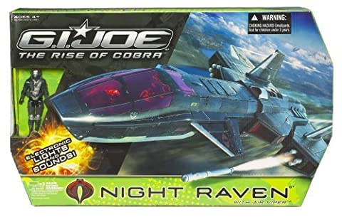 Gi Joe Movie 3.75 Echo Vehicle Night Raven with Air