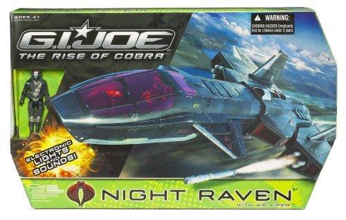 Gi Joe Movie 3.75 Echo Vehicle Night Raven with Air Viper by Hasbro - Echo-air
