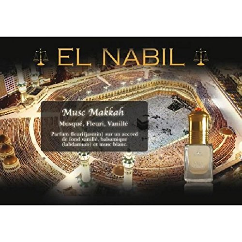 EL NABIL - MUSC MAKKAH 5ml - LOT DE 6