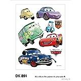 Image of Adesivi da parete Dk 851Disney Cars