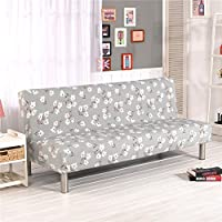 Cornasee Funda de Clic-clac elástica, Cubre/Protector sofá de 3 plazas,impresión Floral,D