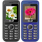 Hicell C5 (Combo Of Two MOBILES) Dual Sim Mobile Phone With Digital Camera And 1.8 Inch Screen (BlackRed+DarkBlueBlack)