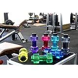 VR SHOPEE Stylish Dumbbell Sports Bottle, (Black) | Fitness Gym Water Bottle | Sports Water Bottle | H2O Bottle | Innovative Product