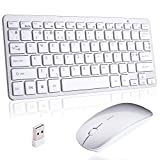 Best Apple Ergonomic Keyboards - Wireless Mini Keyboard and Mouse Combo,2.4G Ultra-thin Compact Review