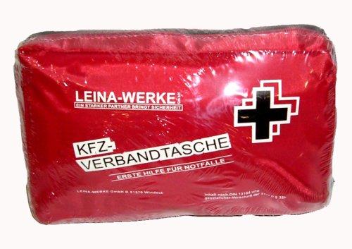 Leina-Werke GmbH 3110048/0 KFZ-Verbandtasche, Nylon, rot