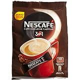 Nescafé 3 en 1 - Café Soluble con Leche y Azúcar - 9 Paquetes de 180 g