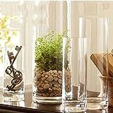 ZHFC-landung direkt fuguizhu sichern transparente glasvase fischglas hochzeit straße crystal vase,Mouth 20CM high 50CM