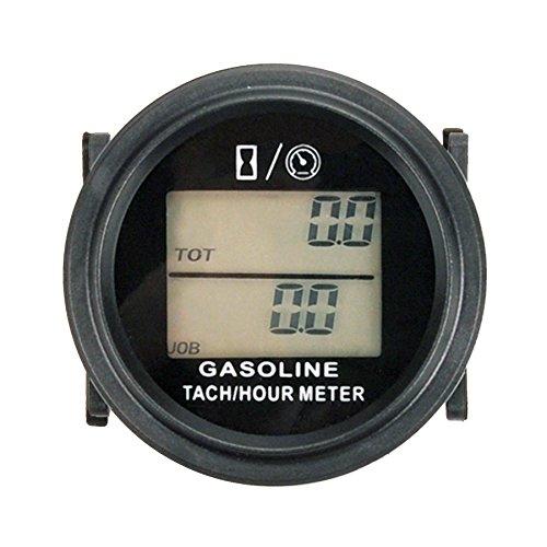 Runleader RL-HM005L induktive tachometer mit stunde zähler für alle benzin - motor atv utv dirtbike motobike motocycle outboards schneemobil pitbike pwc marine - schiff wasserdicht
