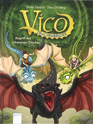 Vico Drachenbruder -  Angriff des schwarzen Drachen Bd.2