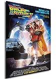 Poster Back to The Future Part II Vintage Retour vers Le Futur 2 Affiche - A3 (42x30 cm)