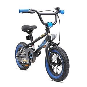 514tQRzE1 L. SS300 BIKESTAR Bicicletta Bambini 3-4 Anni da 12 Pollici Bici per Bambino et Bambina BMX con Freno a retropedale et Freno a…