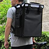 PK-34V: Small Food Delivery Backpack for Hot and Cold, Beverage Delivery Carrier, Drinking Delivery Bag, Coffee Take Out Delivery Box, Top Loading, Velcro Closure, 13' L x 9' W x 18' H